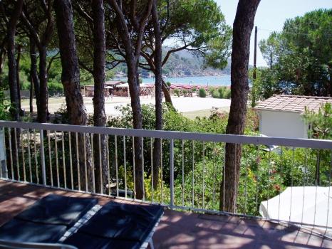 Villa Fantagalì app. 505 vista dal terrazzo