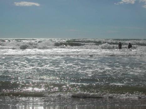seaside near Pisa andLucca