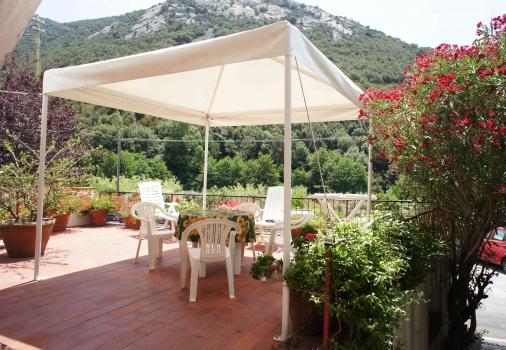 La tua casa sul mare case vacanza casa fonte - Gazebo terrazzo vento ...