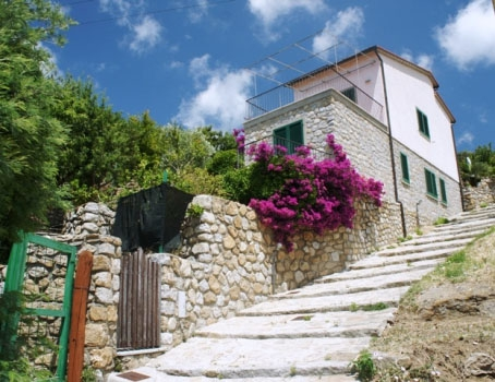 Villa Bellavista e i suoi giardfini pensili
