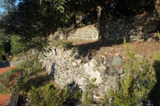 le terrazze dalla scaletta di accesso
