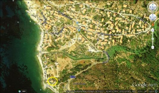 IL QUARTIERE a Pomonte foto satellite a-4