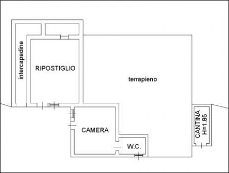Planimetria Piano Seminterrato