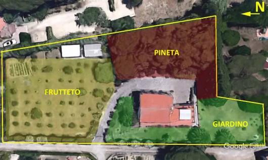 Limiti proprietà e zone