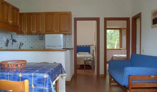 interno soggiorno cucina