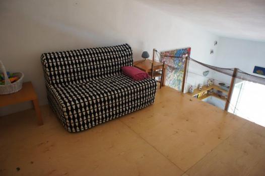 Galerie mit Ausziehsofa