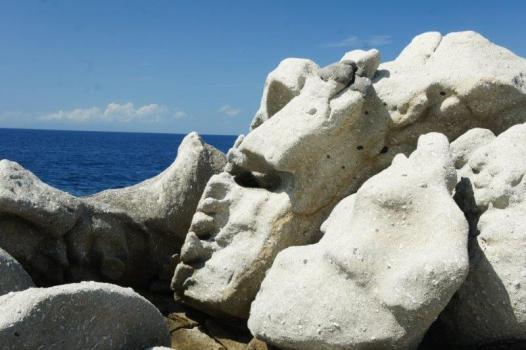 Felsen von Sant'Andrea