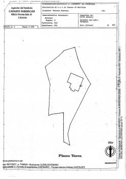 Planimetria villa Fois