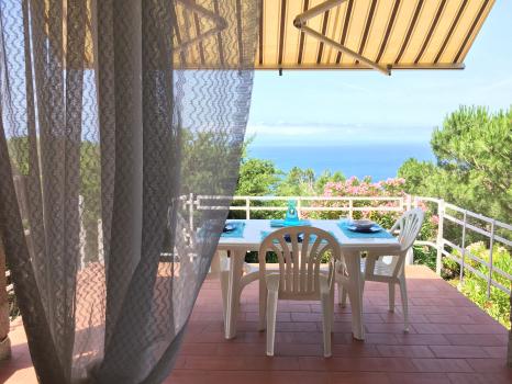 veranda-tenda - vista dal soggiorno