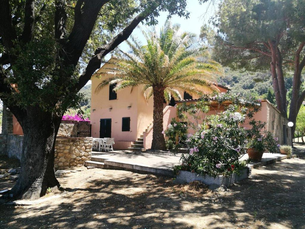 Villa Egle of Cotoncello In wonderful position, on the cliffs of Cotoncello - Sant'Andrea , surrounded by a big park and overlooking the sea, only a few pathes from the Cotoncello beach, one of the most suggestive corners of Elba.