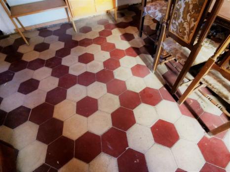 pavimento salone
