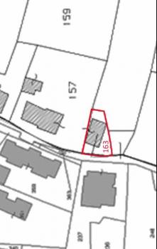 Bilo Estratto di mappa con limiti proprietà