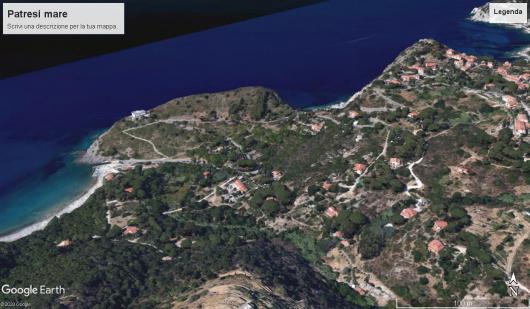 Patresi mare foto satellitare